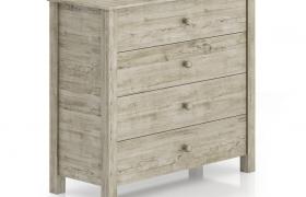 北美風格簡約華麗儲物柜C4D模型下載