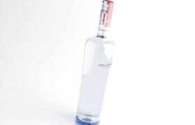 C4D預覽俄羅斯伏特加Vodka酒品展示模型