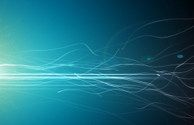藍色的夢清新唯美主題電子相冊會聲會影模版