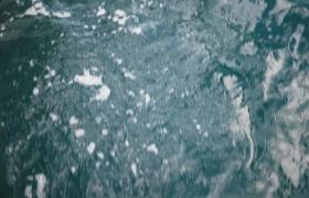 碧波蕩漾水快速流動實拍視頻素材參考