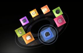 手机软件品牌及新品手机功能介绍视频宣传会声会影模版