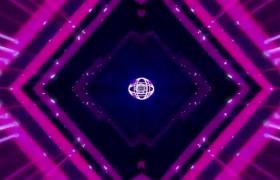 炫紫光线循环闪耀动感舞台背景视频素材下载