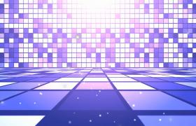 紫色亮片效果舞台背景活动登场片头会声会影模版