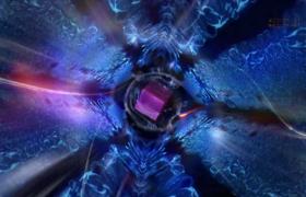 水晶颗粒效果大片既视感的片头开场会声会影模版
