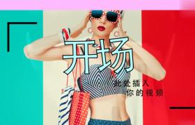宣傳美妝動畫效果包裝欄目AE模板