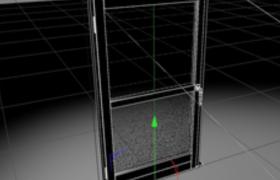 C4D室内外设计门窗预设(参数可控不含贴图)