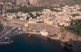 景色优美海岛旅游圣地实拍视频素材下载