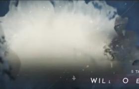 烟雾遮罩震撼电影气势影视宣传片开场模板