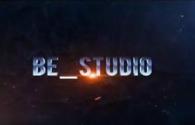 火星文字粒子效果迸发影视年会舞台标题字幕文字展示开场片头宣传模板下载