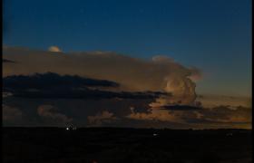 高清镜头呈现雷云形成过程直观感受大自然的力量