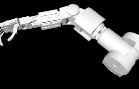 工业机器人机械摆臂仿生模型:手臂展示