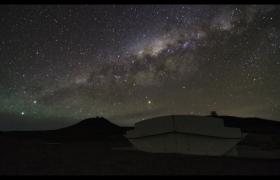 实拍星空银河组织野外露营宣传视频优德w88中文版