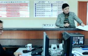 現代化企業客戶受理中心辦公場景視頻素材