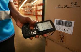 實拍國外企業工廠倉庫貨物快遞運輸視頻素材參考