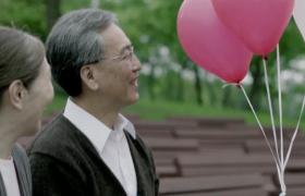 气球飘到幸福家庭手上温馨公益广告视频参考