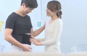 高清拍摄幸福家庭二人世界温馨交流片段视频素材参考