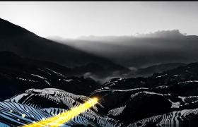富饶中国丰年乡村丰收节宣传视频AE模板