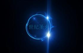 黑色背景粒子光效文字展示画面震撼片头片尾会声会影下载