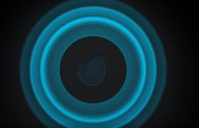 多款形狀不同的音效波紋logo展示視頻AE模板
