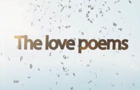 创意浪漫情诗婚礼求婚告白视频开场会声会影模板