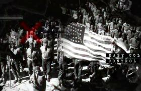 水墨風格歷史圖文回顧戰爭視頻AE模板