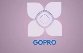 4款不同風格的logo標志片頭視頻AE模板