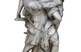 古罗马奠基历史开端人物事件雕塑C4D模型(含材质图片)