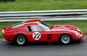 全球顶级收藏夹最渴望收藏车型之一:法拉利250GTO赛事专用跑车c4d模型