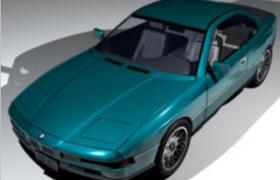 汽車電子化運用發展典型車型寶馬850i大型豪華轎跑(四座)