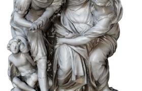 阿丽雅女性人物角色西欧雕塑艺术品c4d模型预览