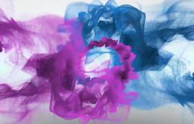 edius模板藍紫粒子匯聚logo演繹開場片頭