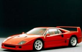 法拉利40周年紀念款經典車型F40頂級超跑C4D模型