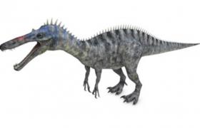 C4D重爪类恐龙模型:巨大的兽角类似鳄龙