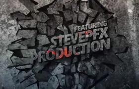 复古特效碎石镜头与摇滚音乐节预告宣传片AE模板