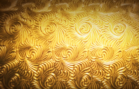 奢华大气的铂金纹理旋转展示高清视频素材