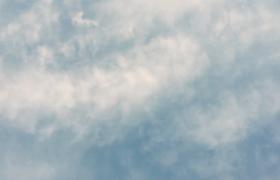 延时拍摄白云不断飘走时间流逝飞快超清实拍视频转场素材