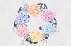 清新唯美鲜花幻动纯图片切换logo标题展示婚庆片头会声会影模板下载