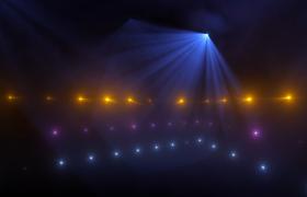 三十帧高清音乐会主题灯光秀唯美三维立体展示高清实拍视频