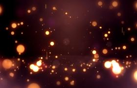 唯美温馨的星光粒子掉落弹跳动感特效视频元素下载