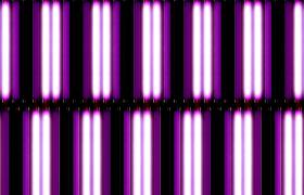 动感双向运动高清紫色荧光灯灯光秀视频素材