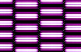 动感紫色荧光灯四通道双向上下闪烁运动动态舞台背景视频素材