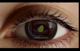 7款近鏡頭眼睛眼球朔漠暈染LOGO演繹動畫AE模板