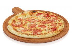 意大利风味鸡肉BBQ至尊烤肉8寸披萨C4D模型(含贴图)