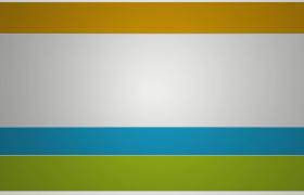 彩色横格动画摇摆过渡转场创意性艺术图文展示PR模板