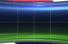 超现代风格科技动感线条七彩缩进特效电子相册图文展示PR模板