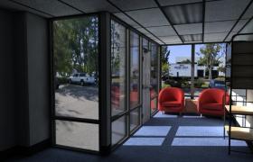 C4D高檔豪華別墅小區室內裝修設計V-Ray逼真渲染工程預設