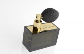 意大利豪华奢侈品牌普拉达PRADA高级香水c4d模型