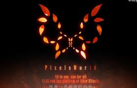 像素世界代碼場景渲染AE插件PixelsWorld免費試用版下載