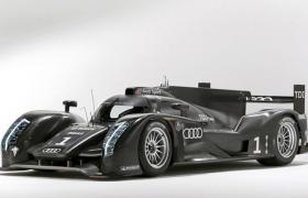 超轻量化技术TDI混合动力奥迪Audi R18方程式赛车C4D模型展示