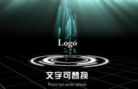 三維炫酷空間粒子光效震撼演示圖文展示企業宣傳Edius6.03模板